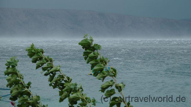 Sturm an der Adria