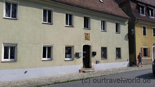 mein Geburtshaus - das Rathaus