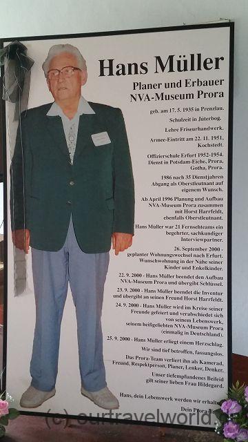 Der Gründer des Museums