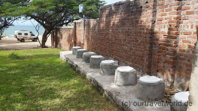 unsere sanitären Anlagen