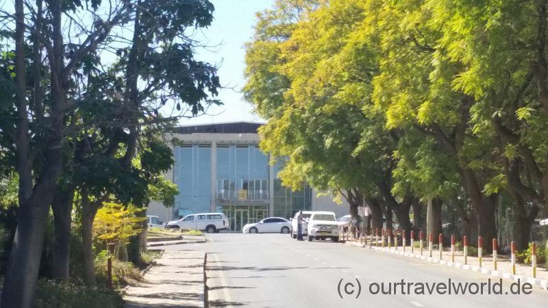 Tintenpalast- Das Parlament