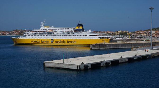 Überfahrt und Ankunft auf Sardinien